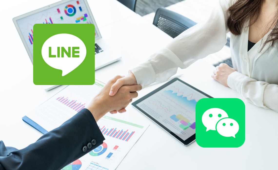 Japanese Line Pay and Chinese WeChat are in Partnership